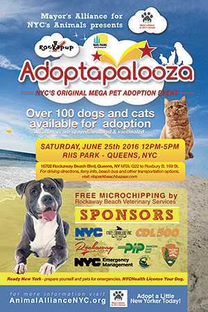 Adoptapalooza Riis Park - Saturday, June 25, 2016