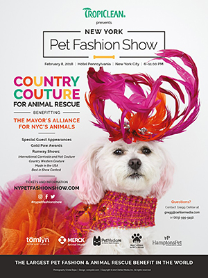 NY Pet Fashion Show - Thusday, February 8, 2018