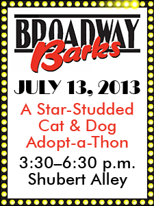 Broadway Barks - July 13, 2013