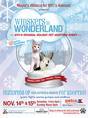 Whiskers in Wonderland - November 14 & 15, 2015