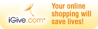 iGive.com - Your online shopping will save lives!