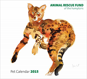 Animal Rescue Fund of the Hamptons: Pet Calendar 2015