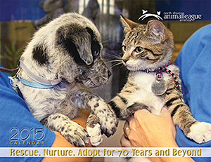 North Shore Animal League America: 2015 Calendar: Rescue, Nurture, Adopt for 70 Years and Beyond