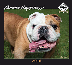 Animal Welfare Society, Inc.: Choose Happiness 2016 Calendar