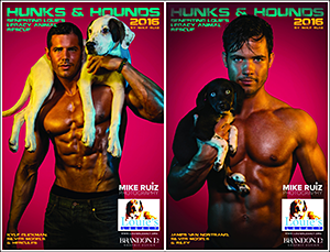 Louie's Legacy: Hunks & Hounds 2016