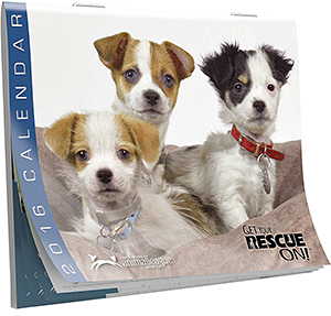 North Shore Animal League America: 2016 Calendar: Get Your Rescue On!