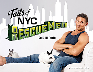 Pillows for Paws: Tails of NYC: RescueMen 2016