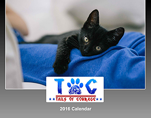 Tails of Courage: 2016 Calendar
