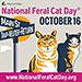 National Feral Cat Day - October 16, 2014