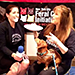"Alliance Spokesperson Gets ""Pied"" by Jill Rappaport in PIES4PAWS Challenge™"