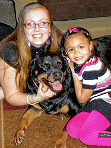 The Mayor's Alliance for NYC's Animals and the Urban Resource Institute teamed up in May 2013 to create People and Animals Living Safely (PALS), a program that allows people fleeing domestic violence, like Murel Raggi and her daughter, to take their pets with them to shelters. (Photo by Urban Resource Institute)