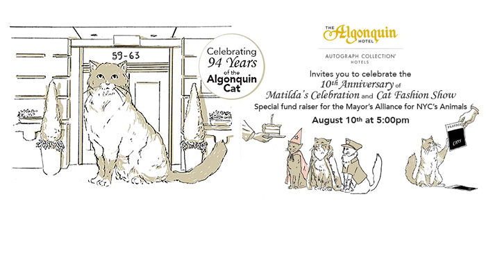 Matilda's Annual Celebration and Cat Fashion Show - August 10, 2016