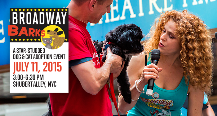 Broadway Barks - July 11, 2015