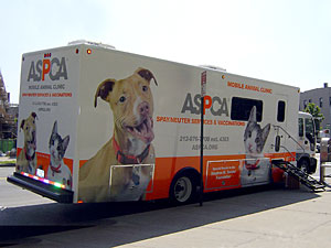 The addition of a fifth ASPCA Mobile Spay/Neuter Clinic in January ...