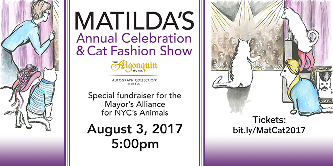 Matilda's Annual Celeration & Cat Fashion Show - August 3, 2017
