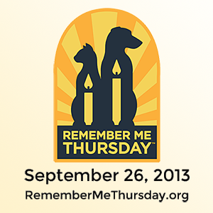 Remember Me Thursday - September 26, 2013