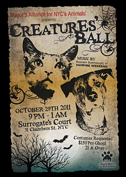 Creatures' Ball - October 29, 2011