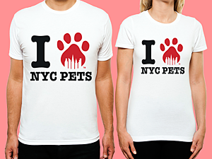 I Love NYC Pets T-Shirt from SocialPakt