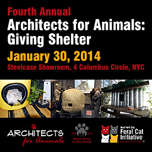 Architects for Animals: Giving Shelter - January 30, 2014