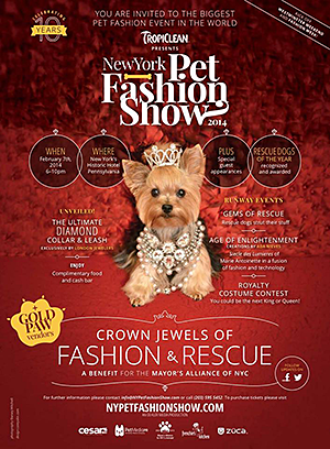 New York Pet Fashion Show - February 7, 2014