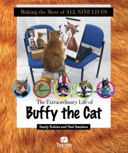 Author Sandy Robins and photographer Paul Smulson will sign their book, 'Making the Most of All Nine Lives: The Extraordinary Life of Buffy the Cat,' at the National Tabby Day event at Bideawee on April 30.