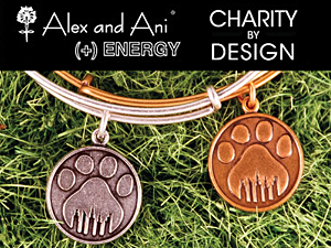 Alex and Ani - Charity by Design - Paw Prints Bangle
