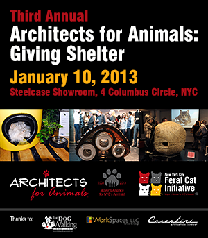 Architects for Animals: Giving Shelter - January 10, 2013