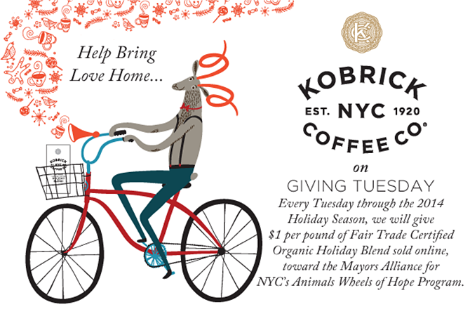 Kobrick Coffee Co. 2014 Limited Edition Fair Trade Certified Organic Holiday Blend